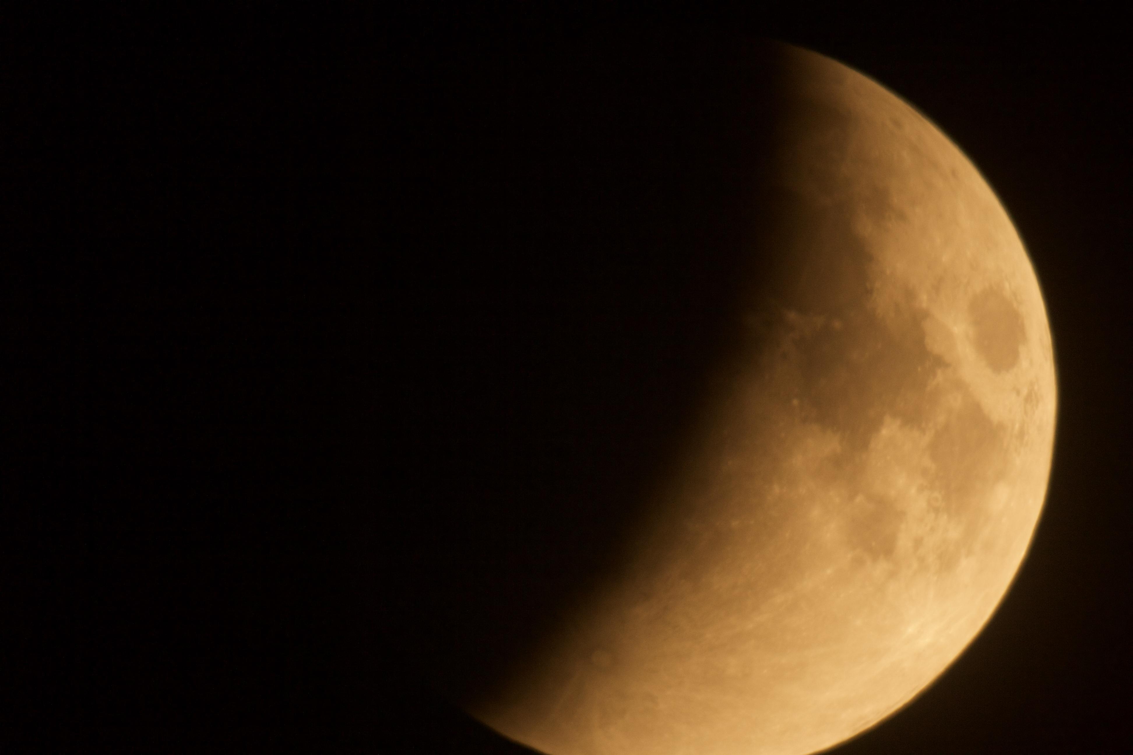 dark lunar eclipse u2013 backyard astronomer